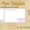 6×9 Flyer Template Free Download (Microsoft Word Format)