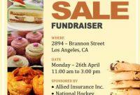 Bake Sale Fundraiser Flyer Template Free Idea (2nd Sample Design)