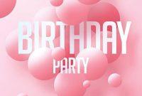 Birthday Celebration Flyer Template Free Design (1st Idea)