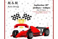 Car Show Flyer Template Word Free Design (2nd Idea)