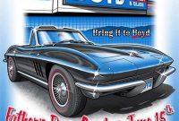 Car Show Flyer Template Word Free Design (3rd Idea)