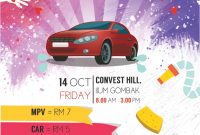Car Wash Flyer Template Word Free Design (3rd Choice)