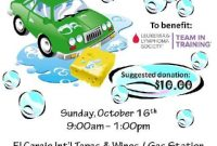 Car Wash Fundraiser Flyer Template Free Download (2nd Design)