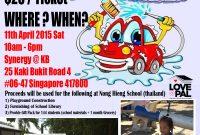 Car Wash Fundraiser Flyer Template Free Download (3rd Design)