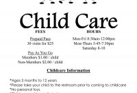 Child Care Flyer Free Template Design (4th Sample)