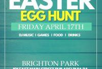 Easter Event Flyer Template Design Free (1st Option)