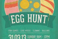 Easter Event Flyer Template Design Free (3rd Option)