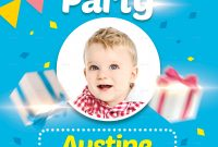 Free Birthday Party Flyer Template Word Format (1st Design)