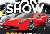 Free Car Show Flyer Template Idea (1st Design)