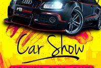 Free Car Show Flyer Template Idea (2nd Design)