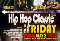 Hip Hop Concert Flyer Template Free (2nd Design)