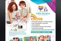 In Home Child Care Flyer Template Free Design (4th Reference)