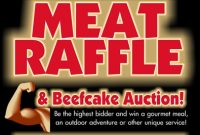 Meat Raffle Flyer Template Free Design (3rd Sample)