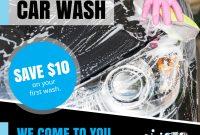 Mobile Car Wash Flyer Template Design (3rd Reference)
