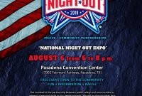 National Night Out Flyer 2019 Design Free (3rd Choice)
