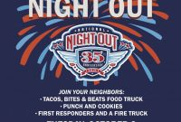 National Night Out Flyer Template Free Design (3rd Example)