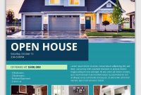 Open House Flyer Free Design (1st Choice)