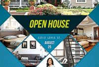 Open House Flyers for Realtors Design Free (2nd Option)