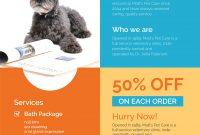 Pet Sitter Flyer Template Free Download (3rd Design Sample)