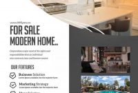 Real Estate Flyer Template Free Word (2021 Design Sample) by Two Package