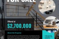 Real Estate Marketing Flyer Template Free (3rd Design)
