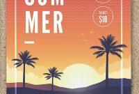 Summer Event Flyer Template Free Design (3rd Idea)