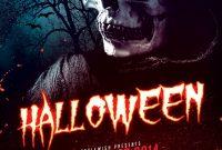 1st Dark Halloween Flyer Template Free Design Idea