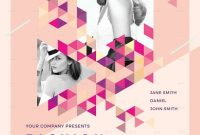 1st Fashion Show Flyer Template Free Design Sample