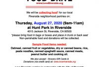 1st Food Donation Flyer Templates Free (The Best Simple Design)
