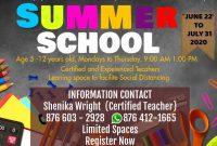 1st Summer School Flyer Template Free Design Idea