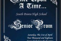 2nd Extraordinary Prom Flyer Template Free Design Idea