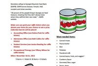 3rd Food Donation Flyer Templates Free (The Best Simple Design)
