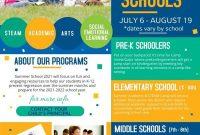3rd Summer School Flyer Template Free Design Idea