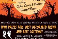 4th Halloween Trunk or Treat Flyer Template Free Design Idea