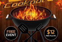 BBQ Cook Off Flyer Template Free Design (1st Idea)