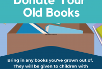 Book Donation Flyer Template Free (3rd Version)