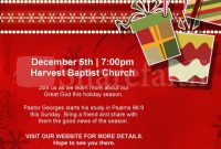 Christian Christmas Flyer Template Free (2nd PSD Format)