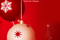 Christmas Flyer Template for Word Free (3rd Beautiful Design)