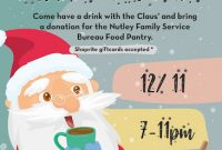 Christmas Food Drive Flyer Template Free Idea (4th Design)
