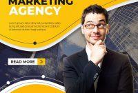 Digital Marketing Flyer Template Free (1st Professional Design)
