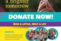 Donation Flyer Template Free Printable (1st Beautiful Design Idea)
