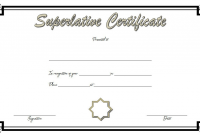 FREE Superlative Certificate Template Microsoft Word (1st Best Option)