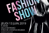 Fashion Show Flyer Template PSD Format Free (2nd Reference)