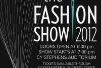 Fashion Show Flyer Template PSD Format Free (3rd Reference)