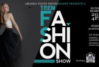 Fashion Show Flyer Template PSD Format Free (4th Reference)
