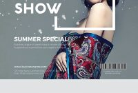 Fashion Show Poster Template Free (1st Great Example)