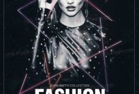 Fashion Show Poster Template Free (2nd Great Example)