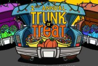 Free Printable Trunk or Treat Flyer Template (4th 2021 Design Idea)
