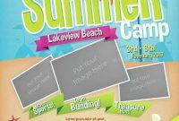 Free Summer Camp Flyer Template PSD (1st Design)