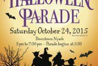 Halloween Parade Flyer Template Free (2nd Best Design Option)